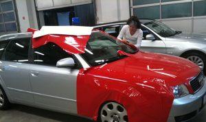 Folierung-CarWrap-Vollverklebung
